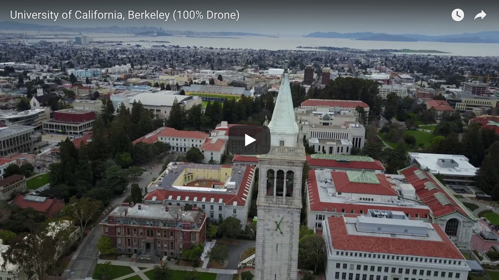 Drone Footage of UC Berkeley Campus