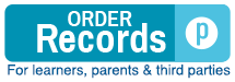 Order records: a service for learners, parents, and third parties