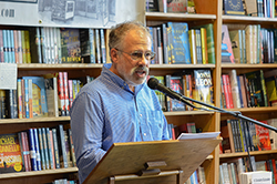 Rob Fisher reads at Book Passage, 2016